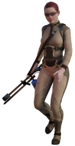 army action woman