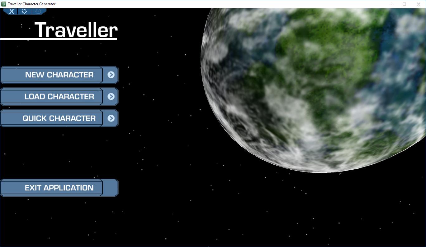 Traveller Character Generator (TCG)   RPGsuite