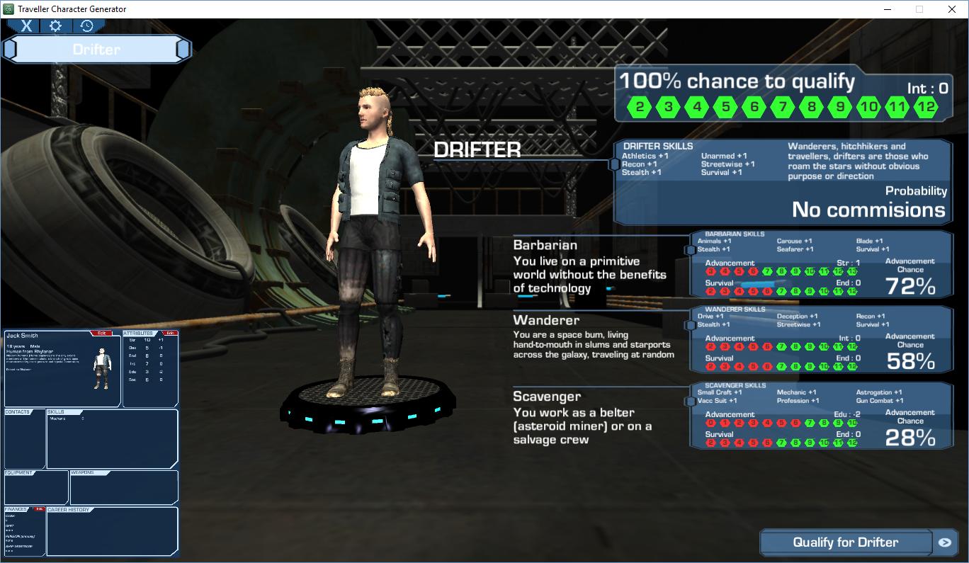 Rpg Character Generator: 2D RPG Character Generator – Billy